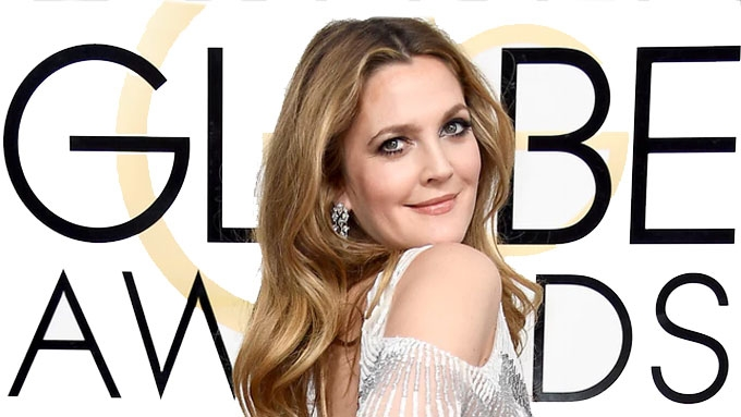 Drew Barrymore wears a Filipino creation at Golden Globes