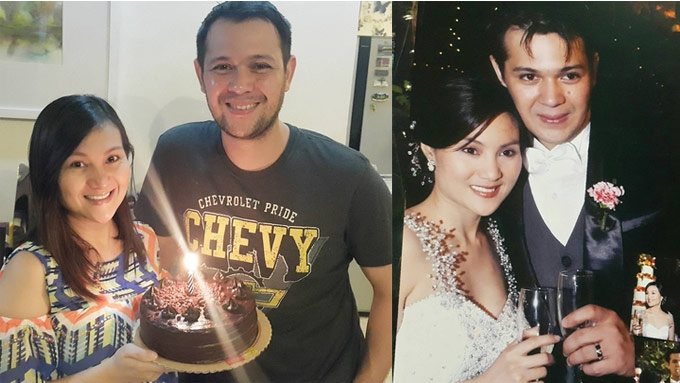 Gladys's anniv gift makes Christopher the happiest man