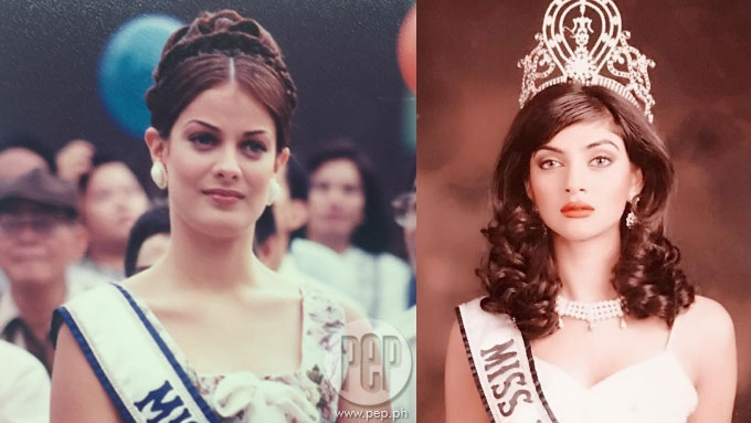Dayanara Torres and Sushmita Sen then and now