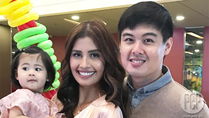 Shamcey's Baby Nyke celebrates birthday with beauty queens