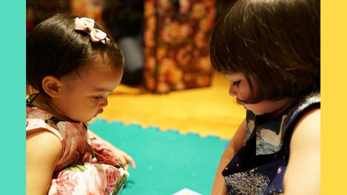 LOOK: Zia Dantes and Scarlet Snow Belo as Chinese dolls
