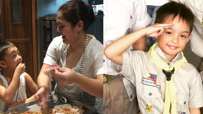 Meet the little chef of Judy Ann and Ryan Agoncillo
