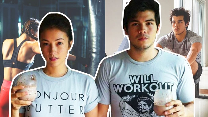 Tamad to exercise? Solenn, Erwan have message!