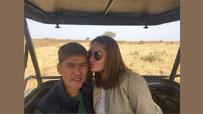 Vic Sotto and Pauleen Luna in South Africa