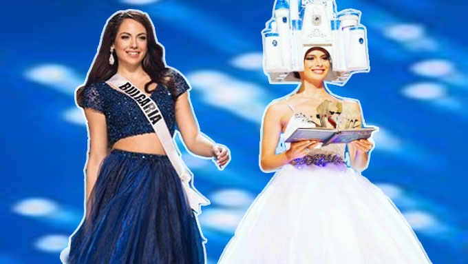 Miss Bulgaria, Miss Germany leave Miss Universe gifts