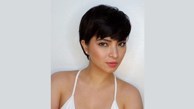 Angel Locsin's pixie hair is really bongga in every way