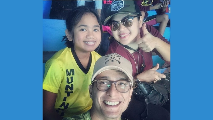 Yohan Agoncillo competes in Palarong NCR's swimming event