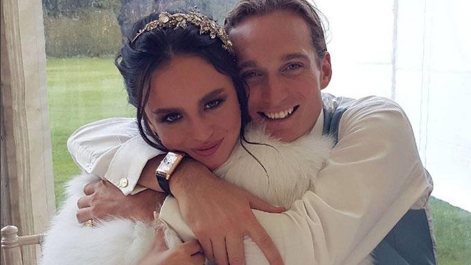 Georgina, Arthur's UK wedding wasn't their first