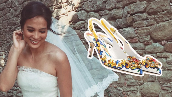 7 Celebrity Brides And Their Gorgeous Bridal Shoes Pep Ph