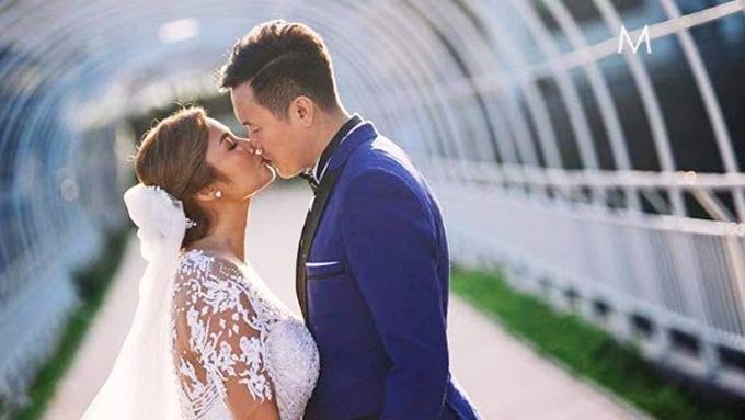 Ehra Madrigal and Tom Yeung's Boracay wedding
