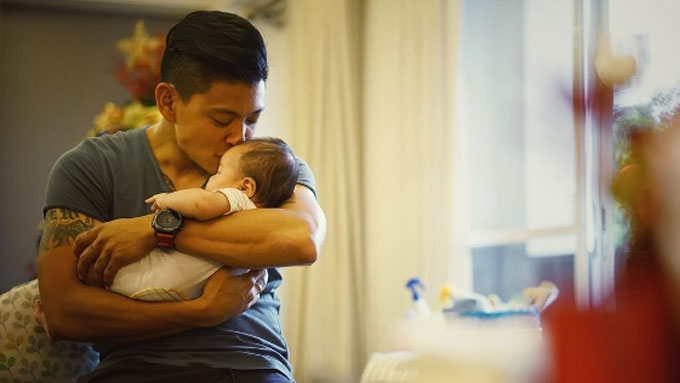 Drew Arellano is working on this trait to become a good dad