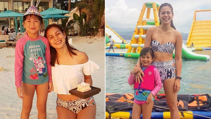Bettina Carlos cries, and it's because of daughter Gummy!