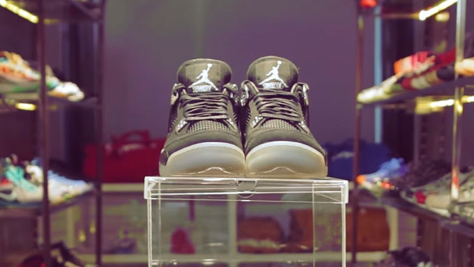 The owner of some of the country's most expensive sneakers