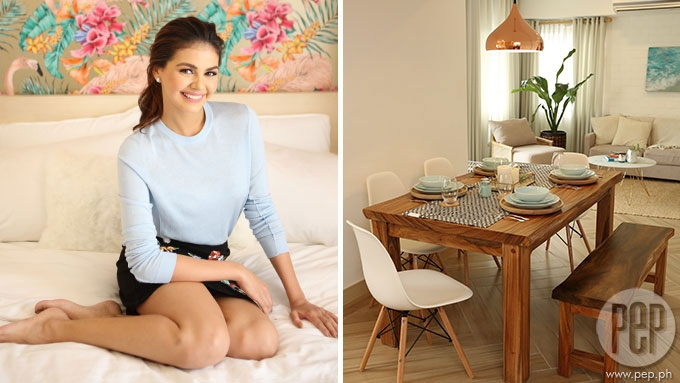 A look inside Janine Gutierrez's hard-earned condo unit