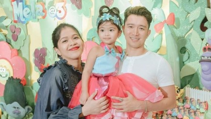 Melai, Jason's daughter celebrates 3rd birthday