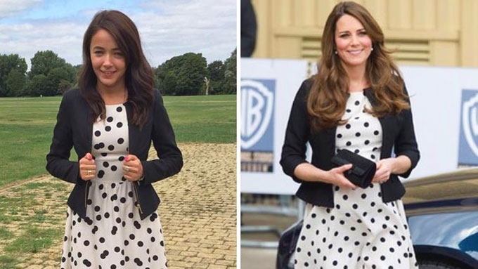 This IG is dedicated to copying Kate Middleton's OOTDs