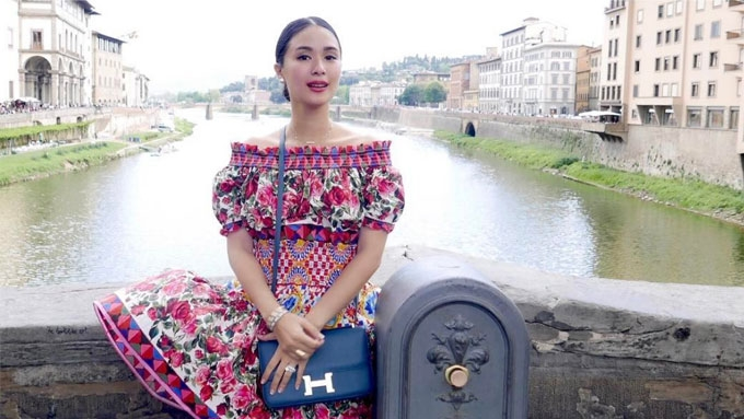 The Hermes bags Heart Evangelista used in Europe