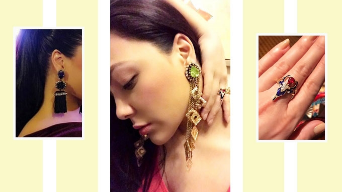 The eye-catching rings and earrings of KC Concepcion