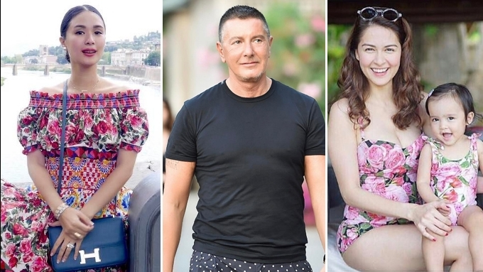 D&G's Stefano Gabbana follows Marian, Heart on Instagram