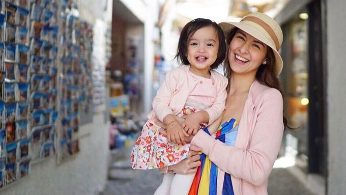 Marian, Dingdong start 15-day holiday with Baby Zia