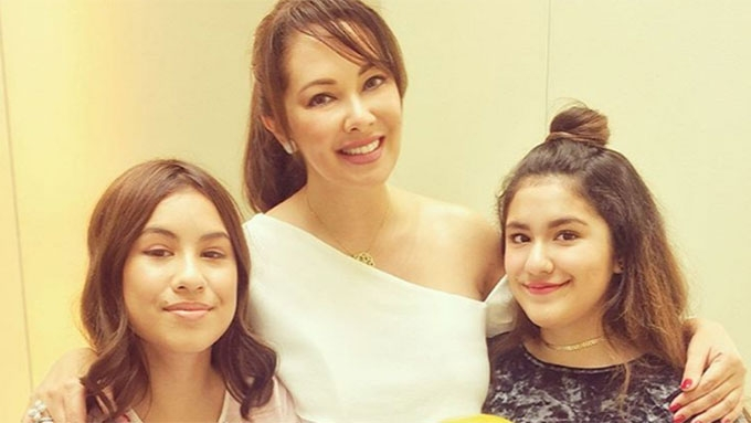 Ruffa hopes her daughters will grow up to be like KC