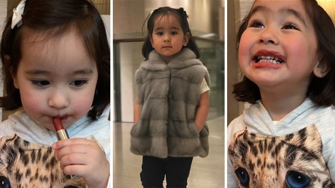 Scarlet Snow Belo discovers the