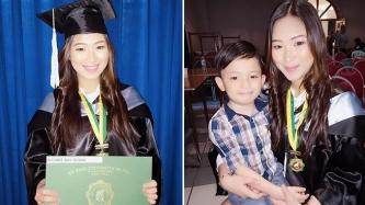 This teen mom defies statistics, graduates <em>cum laude </em>through sheer will and faith