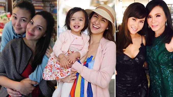 31 celeb moms: Like mother, like daughter