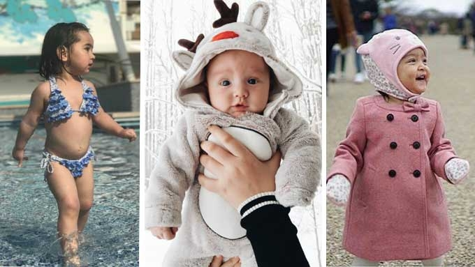 Top four jet-setting celebrity babies