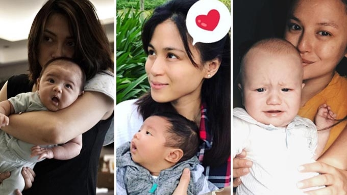 How first-time celeb moms spent their Mother's Day