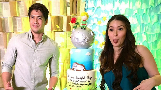 Kylie Padilla's The Little Prince-themed baby shower