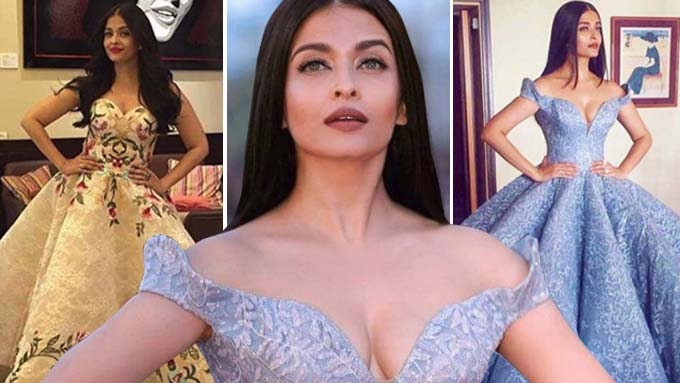 Aishwarya Rai wore gowns designed by two Pinoy designers