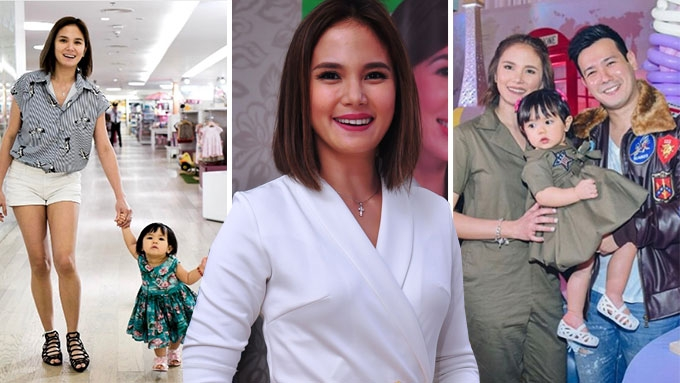 Isabel Oli says Baby Feather is a certified Daddy's Girl