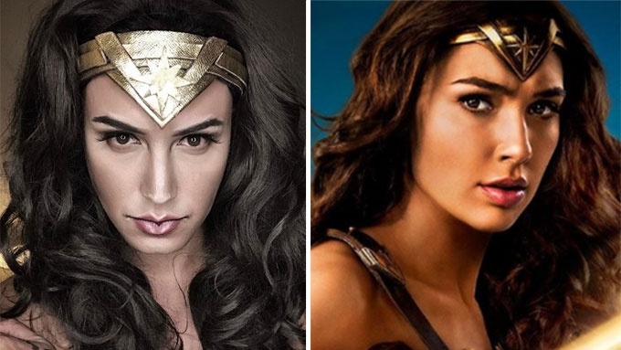 Paolo Ballesteros slays as Gal Gadot's Wonder Woman