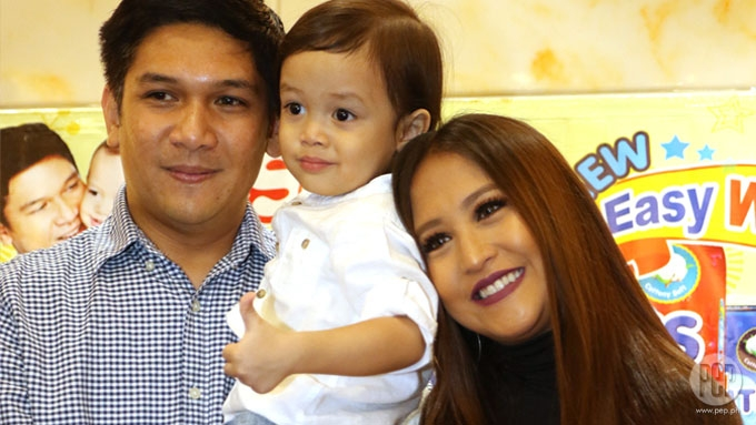 Jolina Magdangal, Mark Escueta committed yaya of son Pele