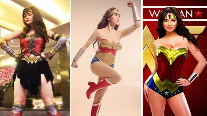 Who slays in a Wonder Woman Costume?