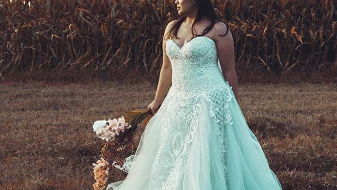 Local designer launched collection for full-figured brides