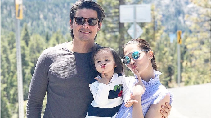 Cute snaps of Zia Dantes in California