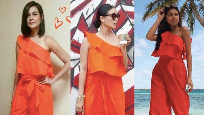Who wore the Poplin jumpsuit better: Maine or Bea or Heart?