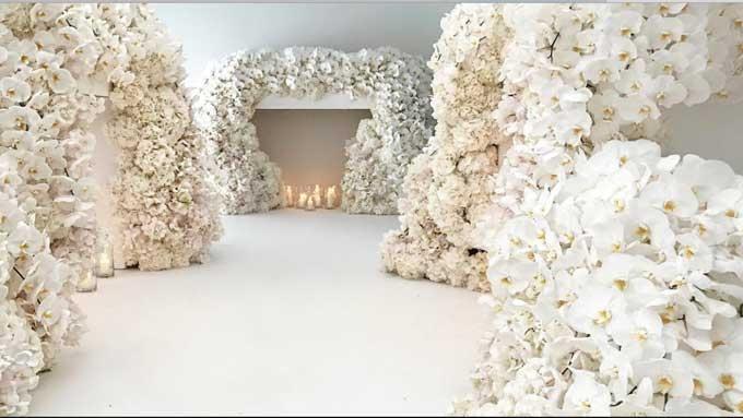 What a six-million-dollar wedding looks like