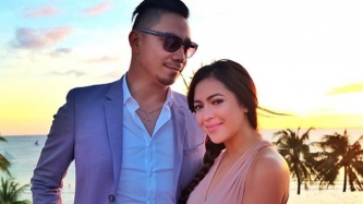 Karel Marquez and Sean Farinas are expecting their rainbow baby