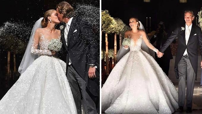 The Michael Cinco gown worn by Swarovski heiress costs P65M