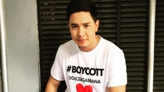 Alden Richards catches attention of designer Stefano Gabbana