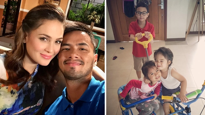 Kristine and Oyo Sotto's kids enjoy doing household chores
