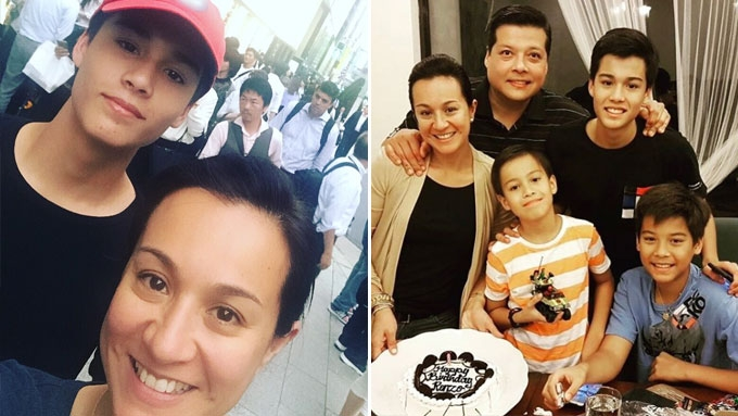 Netizens are gushing over Mikee's eldest son Robbie