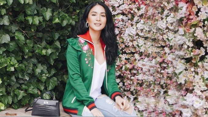 Heart Evangelista can't stop munching on this appetizer
