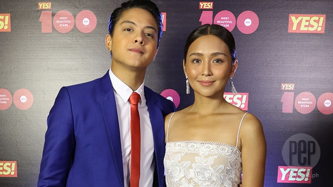 KathNiel wows crowd at <em>YES! 100 Most Beautiful Stars</em> event