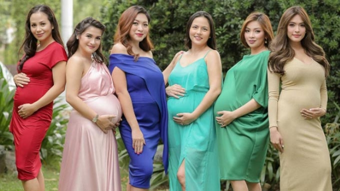 Meet the pretty celebrity moms-to-be of #BumpSquad