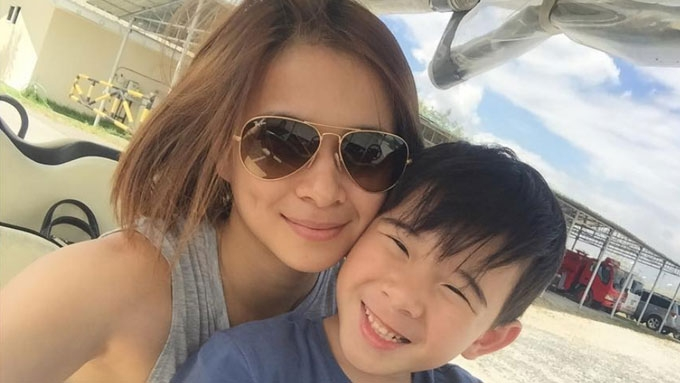 LJ Reyes set to change parenting style now that Aki is seven
