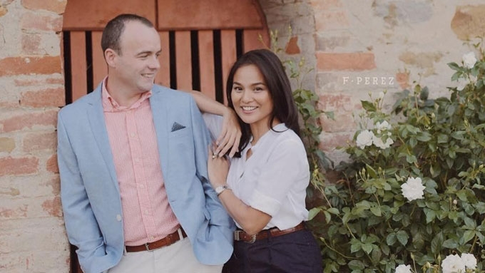Is Julia Clarete now married to Irish beau Gareth McGeown?